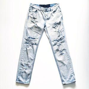 One Teaspoon Thrashed Distressed Jeans